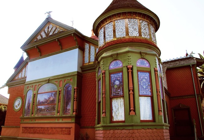 Example of Victorian architecture in San Diego