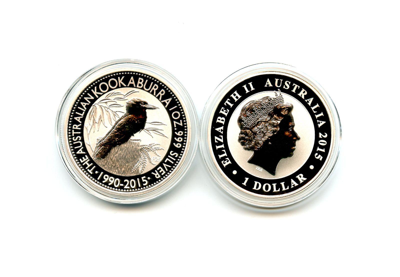 Australia & Oceania 2013 Australian Kookaburra 1oz 999 Silver Dollar Coin Coins & Paper Money