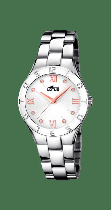Reloj Lotus señora Acero