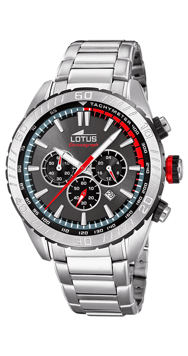 Reloj lotus hombre cronografo esfera gris
