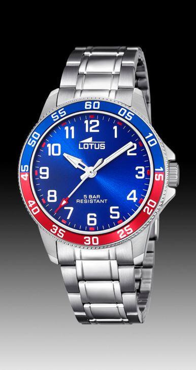 Reloj Lotus niño con esfera azul