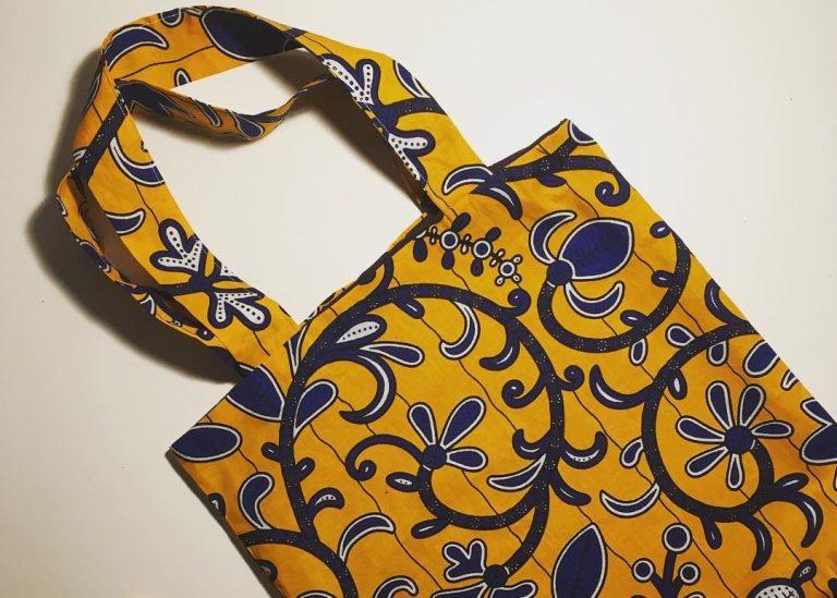 Tote bag Wax - La jupe Normande - vêtements et accessoires made in Normandie