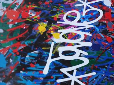 JonOne à Quimper par Ma Première Galerie