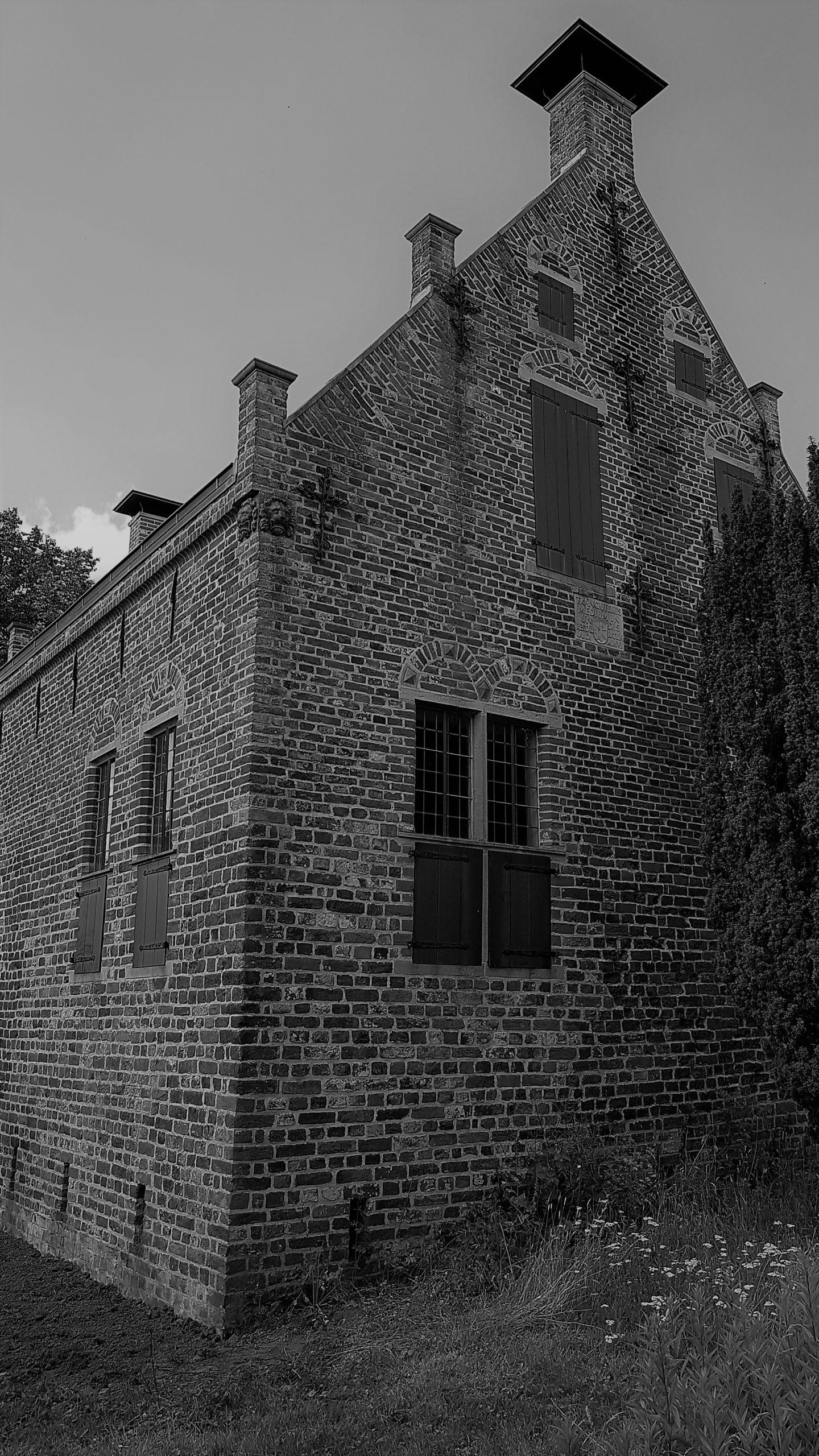 Steinhaus Greetsiel (s/w)