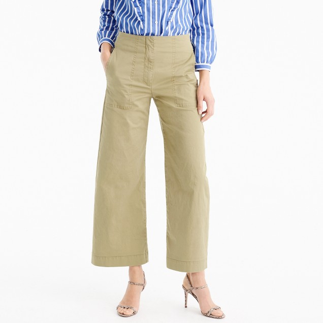 High waisted crew woman's pants