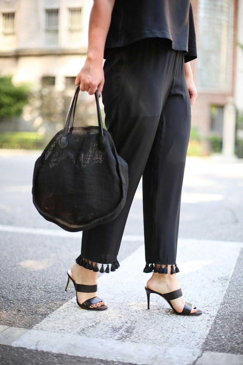 Club Monaco Tassel Pants