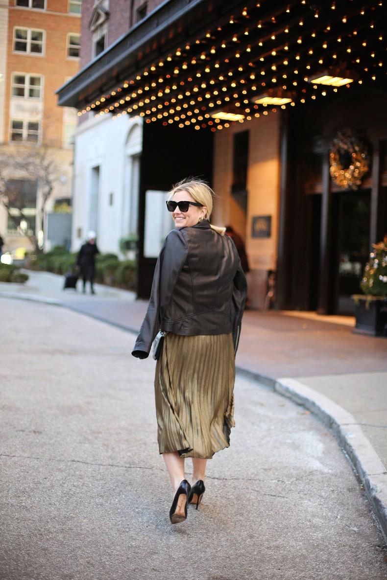 Holiday midi skirt