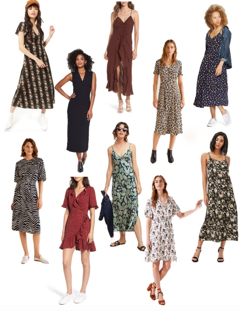 Tuesday's Top 10: Transitional Dresses