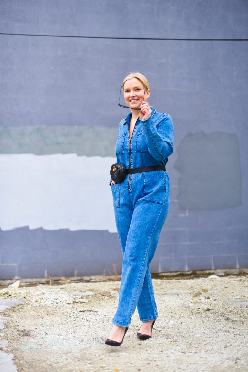 Boiler Suit date night outfit