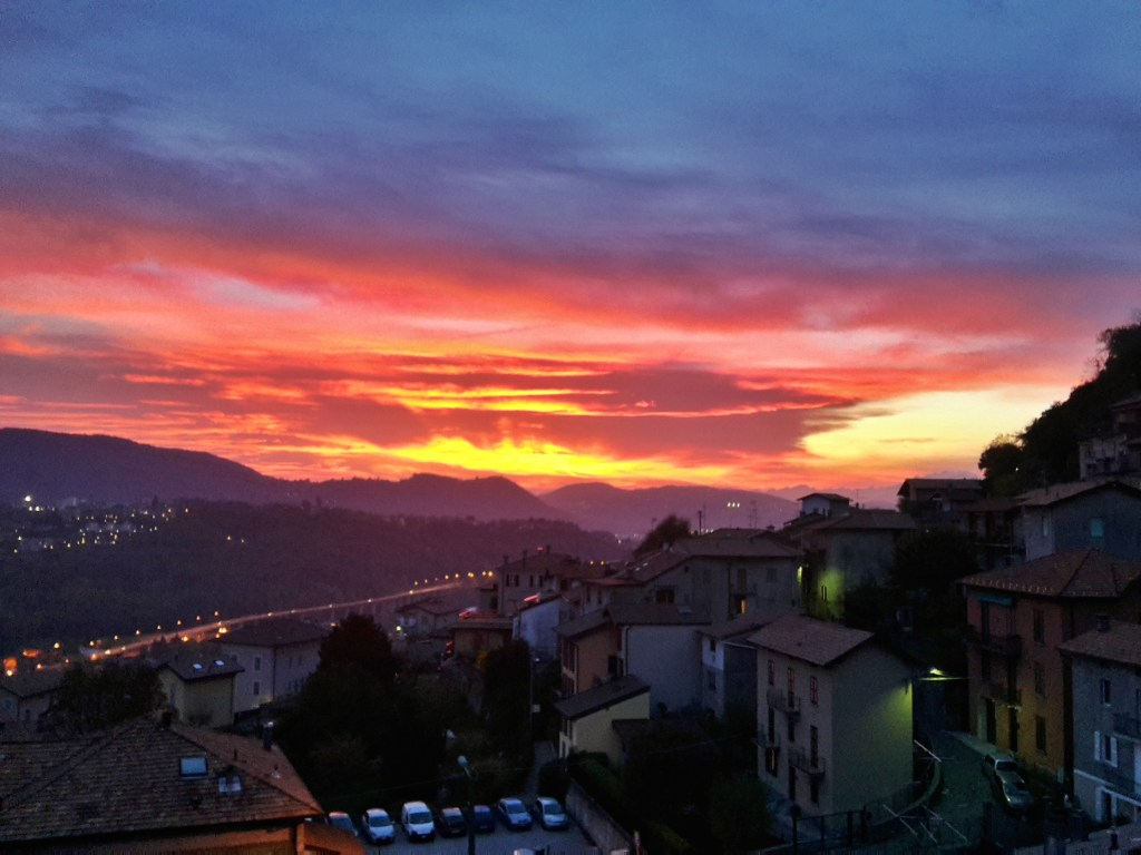 Vallle del Breggia sunset