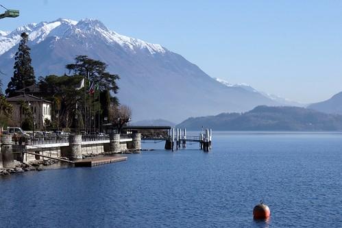 Mountains around Lake Como