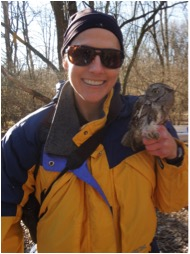 Illinois Natural History Survey biologist Tara Beveroth