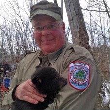 Chris Anchor, senior wildlife biologist with the Forest Preserve District of Cook County