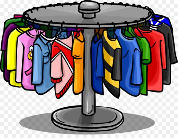 Extra clothing at The Center  /  Ropa Extra en The Center