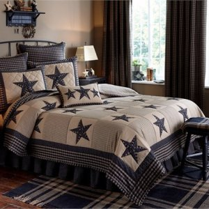 Sturbridge Patch Black Quilt and Bedding by Park Designs