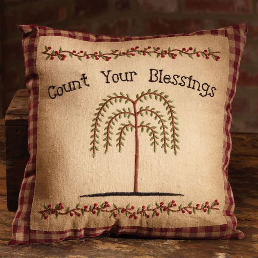 Count your Blessings Pillow
