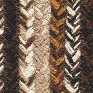 Chestnut Braided Rugs by IHF