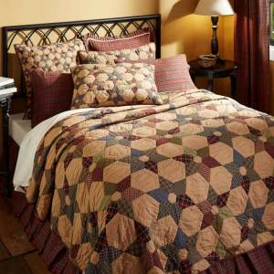Tea Star Quilt by VHC Brands