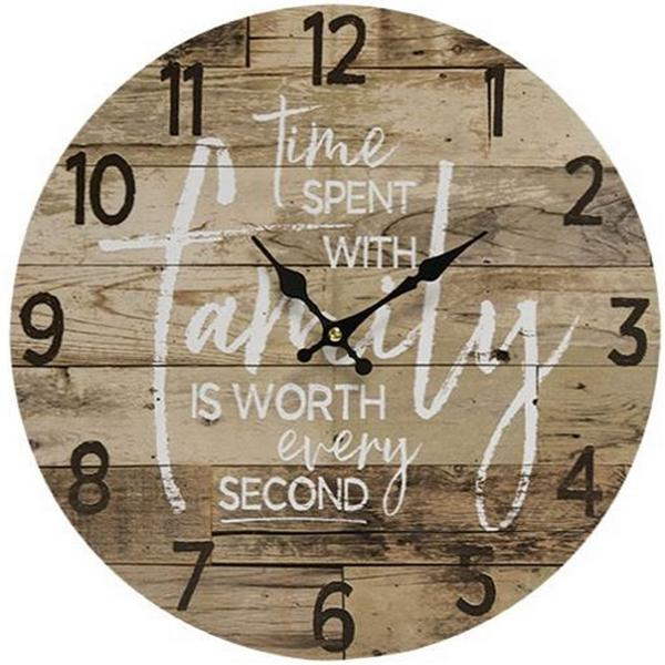 Time with Family Clock