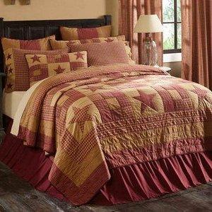 Ninepatch Star Bedding by VHC Brands
