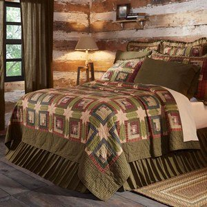 Tea Cabin Bedding from VHC Brands