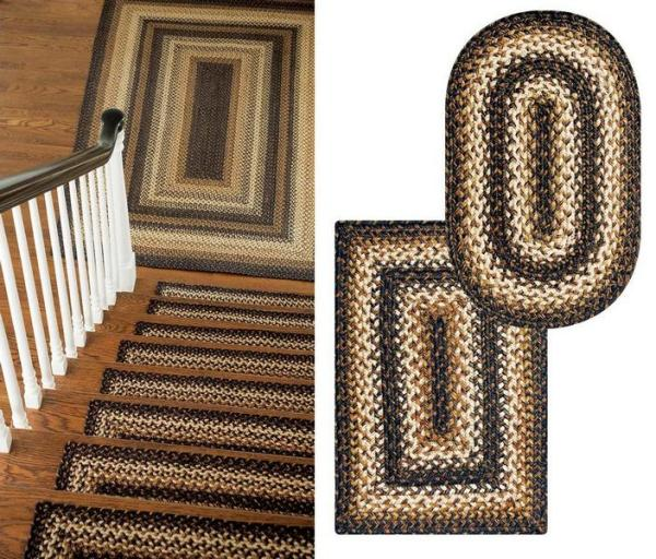 Kilimanjaro Jute Braided Rugs by Homespice Decor