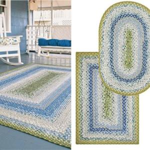 Seascape Cotton Braided Rugs by Homespice Decor