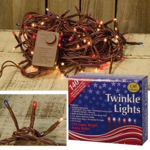 Americana Twinkle Lights