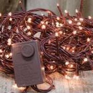 Brown Cord Twinkle Lights