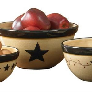 Star Vine Mixing Bowl Set