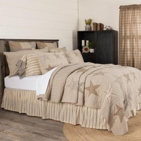 Sawyer Mill Star Quilt by VHC Brands.