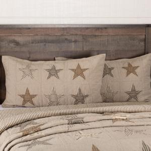 Sawyer Mill Star Quilted Sham
