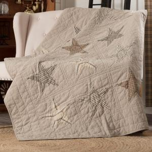 Sawyer Mill Star Quilted Throw by VHC Brands