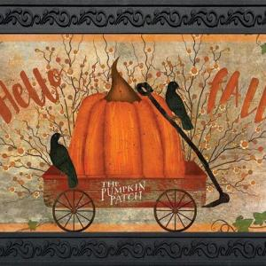 Prized Pumpkin Indoor/Outdoor Doormat