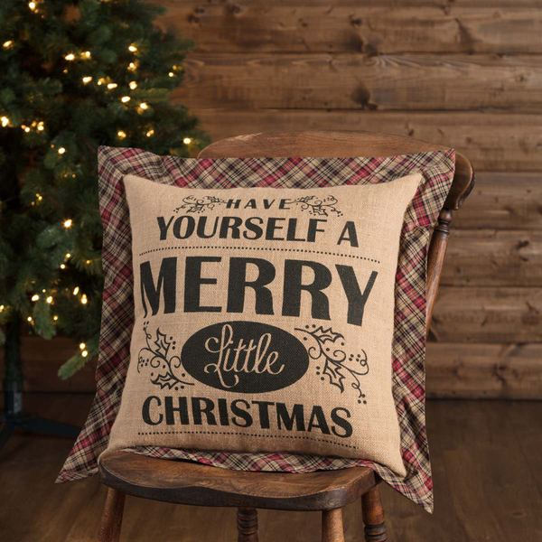 Clement Merry Christmas Pillow