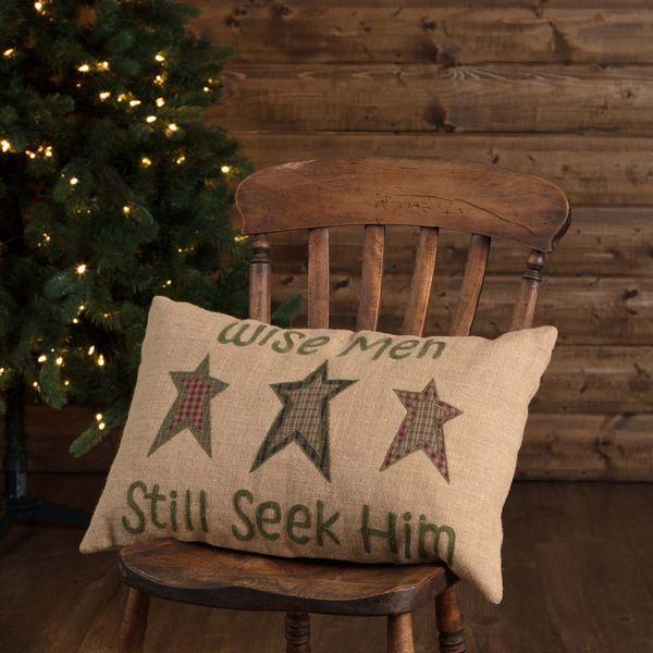 """Wise Men Pillow 14""""x18"""""""