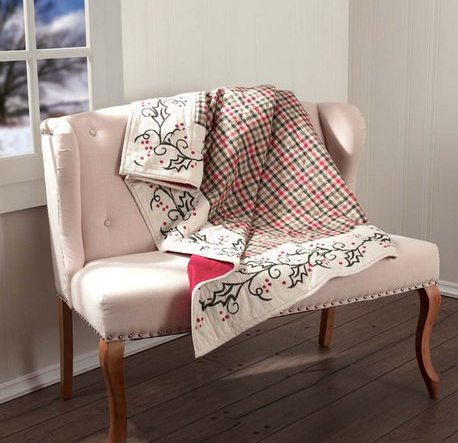 Hollis Quilted Throw by VHC Brands