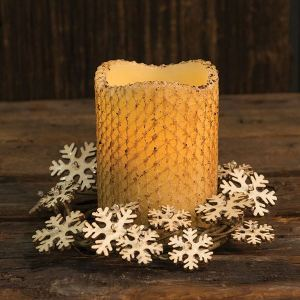 Glitter Vintage Snowflake Ring,