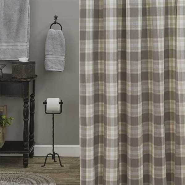Weathered Oak Shower Curtain by Park Designs