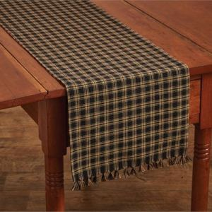 Sturbridge Black Table Runner by Park Designs