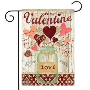Lovely Hearts Garden Flag