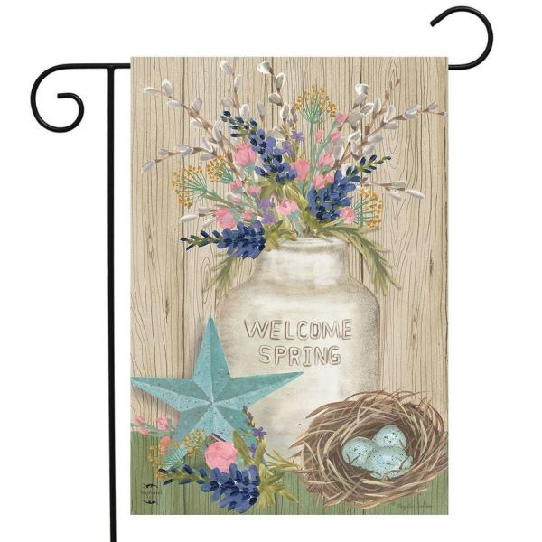 Gifts of Spring Welcome Flag