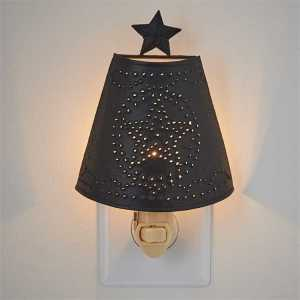 Star Shade Night Light by Park Designs