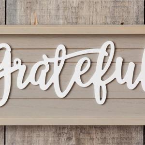 Sign - Grateful