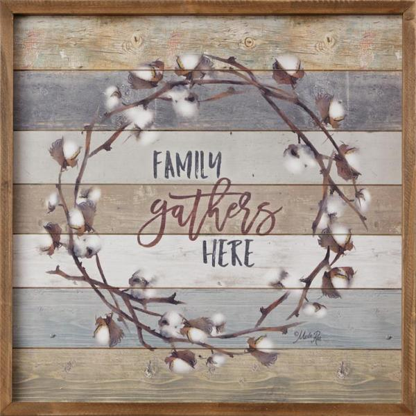 Sign - Family Gathers Here