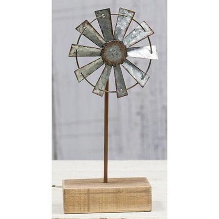 """Windmill Finial - 9"""""""