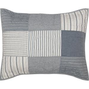 Sawyer Mill Blue Quilted Sham