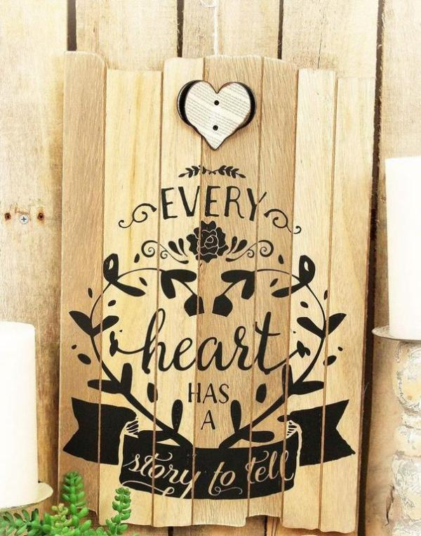 Sign - Every Heart has a Story to Tell
