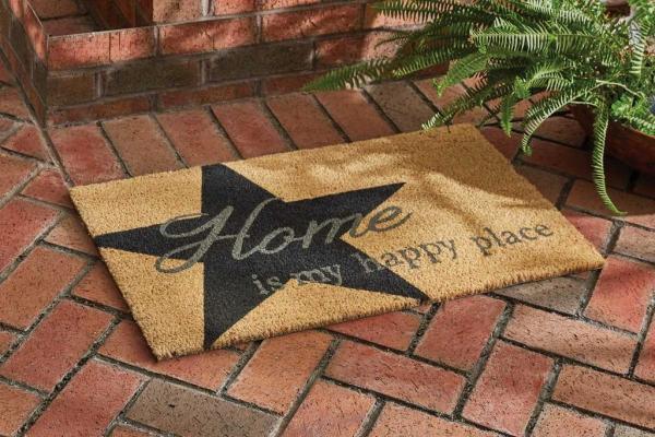 Home is my Happy Place Doormat