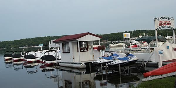 Marinia Bay Boat Rentals Lake Geneva Wisconsin